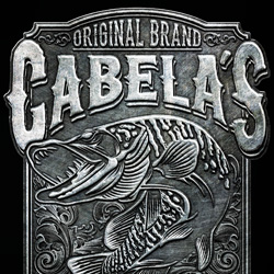 T-shirt design for Cabela's.